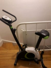 black and gray stationary bike Toronto, M3C 1M6
