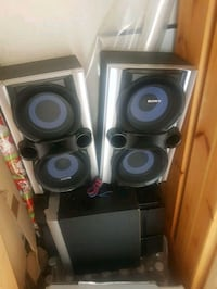Sony speakers and sub Vancouver, V5S 3X9