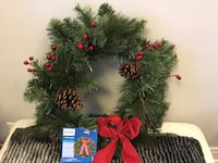 LED Christmas Wreath - NEW