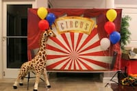Circus Theme Backdrop (Vinyl) Owings Mills, 21117