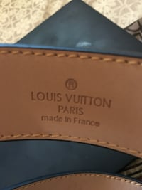 Authentic! Louis Vuitton Belt TORONTO
