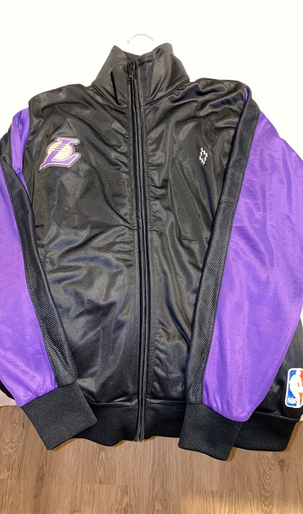 Lakers track jacket and pants by Marcelo Burlon County of Milan f0c605a8-cab7-4c18-8e2c-29eed2dadba4
