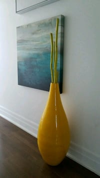 Tall vase with ting tings  Toronto, M5V
