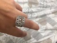 14k gold American Diamond Ring... Used for 10 days Charlotte, 28262