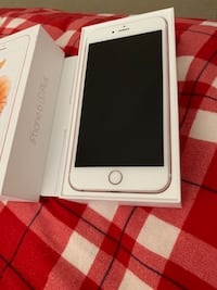 Silver iphone 6 with box 557 km