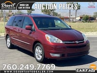 2005 Toyota Sienna Limited Sun Roof Leather Seat All Power Doors XLE LTD, Palm Desert