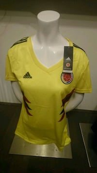 Colombia 2018 World Cup Home and Away female   Mississauga, L5B 0G4