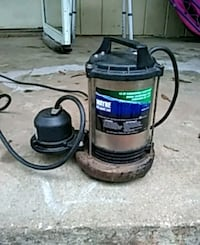 Submersible sump pump 1/2 hp $45 Belton, 29627