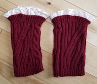 NEW Maroon Boot Cuffs Andover, 55304