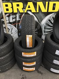 205/55R16 SET OF 4 TIRES ON SALE WE FINANCE NO CREDIT NEEDED  Concord, 94518