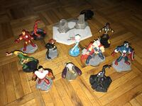 Assorted disney action figure collections Mississauga, L5C 1G6