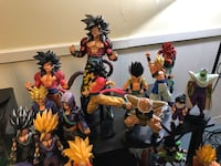 Dragon Ball Z bundle 40+ figures Golden Valley, 55426