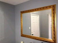 brown wooden framed wall mirror Ashburn, 20147