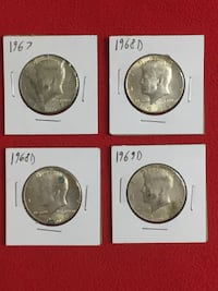 Kennedy Half Dollar Lot 005 Washington