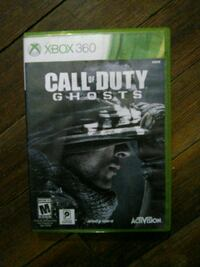 Call of Duty Ghosts Xbox 360 game case Schenectady, 12303
