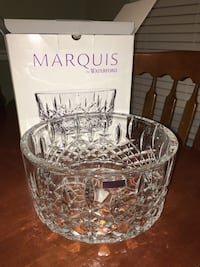 "Marquis by Waterford 9"" Crystal Bowl Thurmont, 21788"