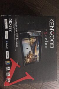 Vehicle- KENWOOD Monitor with DVD Receiver