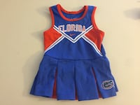 Nike Florida Gator Cheerleading Outfit 2t Girl Toddler Casselberry, 32707