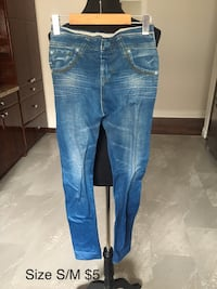 Jeans like tights size S/M/L/ Toronto, M3H