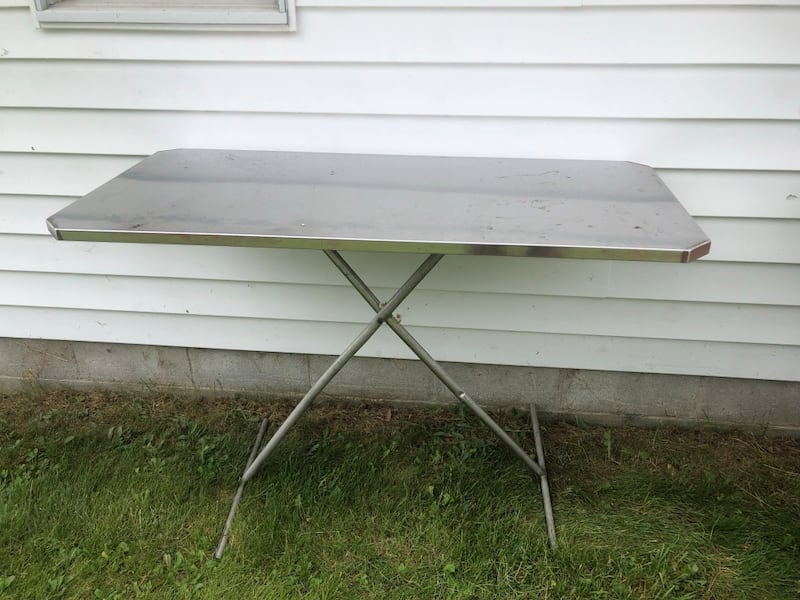 Used Stainless Steel Table Great For
