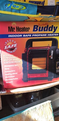 Space heater never opened  Mount Pleasant, 48858