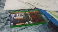 two Xbox One game cases Laval, H7P 3N6