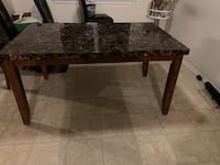 Marble dining table from Ashley furniture Baltimore, 21206