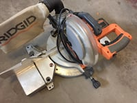 Gray and orange ridgid miter saw Westmont, 15905