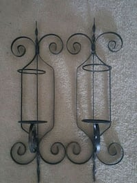 Cast iron hanging pilar candle holders Frederick, 21702