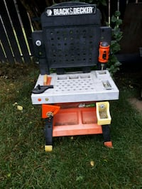 Black and Decker toy tool bench  Calgary, T2A 6N9