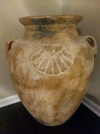 Huge Pottery Vase From Tampa Florida