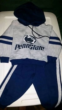 Penn State hooded sweatshirt and sweatpants size 12 months Largo, 33770