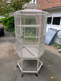 Heavy weight Hex Bird Cage, New Annandale
