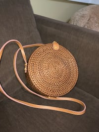 Straw bag from Urban Outfitters