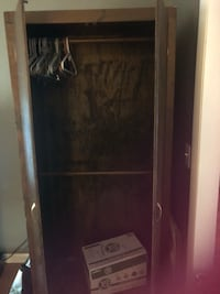 Wooden wardrobe in excellent condition for sale   Hickory, 28601