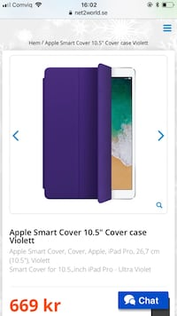 İpad pro smart cover Stockholm, 127 49
