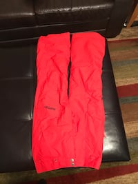 Red burton dryride insulated snowboard pants youth large Sykesville, 21784