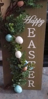 Happy Easter wood decor Douglas County