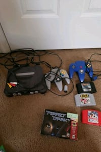 Nintendo 64 console with controller and game cartr Newport News, 23607