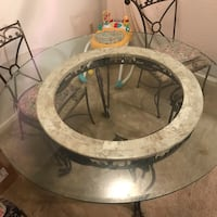 Glass table with 4 chairs Leonardtown, 20650