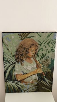 Picture Art Handmade with beads BARCELONA
