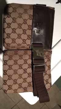 brown and black Gucci leather wallet Surrey, V3S 0M8