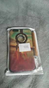 red and green dreamcatcher iPhone case Beaumont, 92223