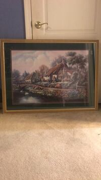 Cottage Painting by Carl Valente Metairie, 70002