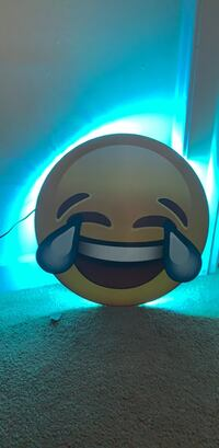 Emoji light hangs in wall can change over 14 different colors Oakland Park, 33311