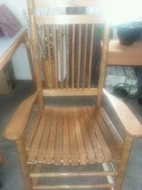 Cracker barrel wood rocker  Manassas, 20110