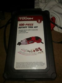black and red power tool battery Blanchard, 73010