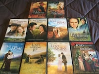 Lot of 10 LOVE COMES SOFTLY DVD MOVIES South Frontenac, K0H
