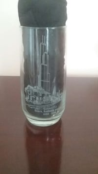 SEARS ROEBUCK and Co. 100 Year Centennial Glass