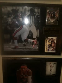Sport plaques ,bears,& lakers
